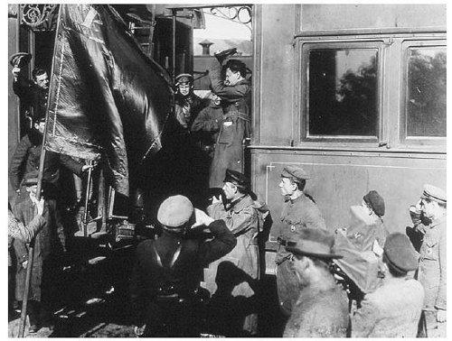 Trotsky's train